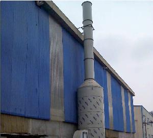 南宁振宁西南薄板钢管有限公司冷镀锌车间酸性废气治理工程